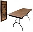 16 ДМ 188-75 ртд - складной стол для кафе