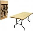 30 РС 157-76 пнд - раскладной стол для кафе