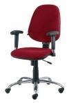 Галант GTR хром - кресло для персонала