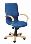 Нова вуд LB хром - бизнес кресло